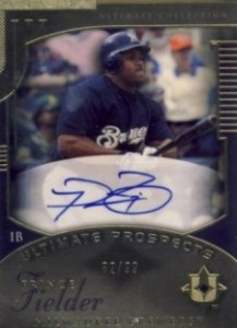 Prince Fielder Cards, Rookie Cards and Autographed Memorabilia Guide 1