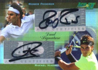 Roger Federer Tennis Cards, Rookie Cards and Autographed Memorabilia Guide 2