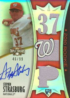 Stephen Strasburg Cards, Rookie Cards Checklist and Autograph Memorabilia Guide 20