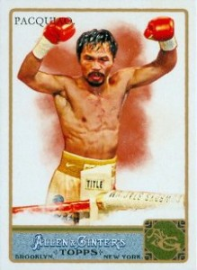 Manny Pacquiao Cards, Rookie Cards, Autographed Memorabilia and More 3