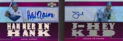 2011 Topps Triple Threads Baseball Book Card Highlights 7