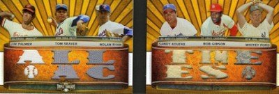 2011 Topps Triple Threads Baseball Book Card Highlights 8