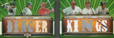 2011 Topps Triple Threads Baseball Book Card Highlights 5