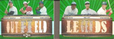 2011 Topps Triple Threads Baseball Book Card Highlights 10