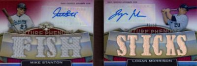 2011 Topps Triple Threads Baseball Book Card Highlights 2