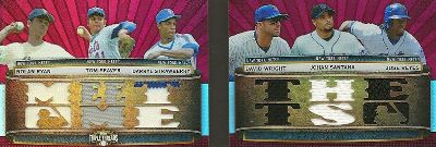 2011 Topps Triple Threads Baseball Book Card Highlights 4
