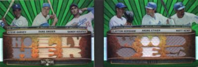 2011 Topps Triple Threads Baseball Book Card Highlights 6