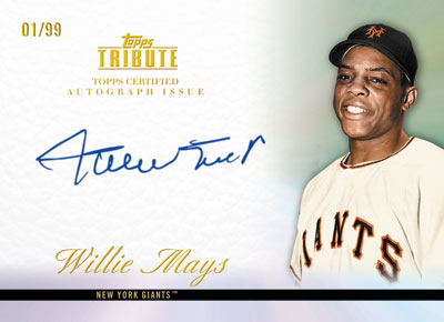 Willie Mays Deal Formally Announced by Topps 1