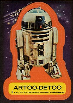 1977 Topps Star Wars Series 1 Trading Cards 31