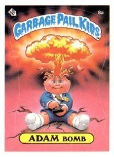 1985 Topps Garbage Pail Kids Series 1 Trading Cards 19