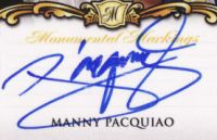 Manny Pacquiao Cards, Rookie Cards, Autographed Memorabilia and More 18