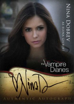 2011 Cryptozoic The Vampire Diaries Trading Cards 1