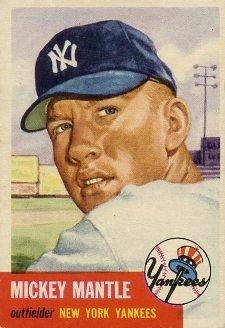 Top 10 Mickey Mantle Baseball Cards