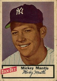 Top 10 Mickey Mantle Baseball Cards 10