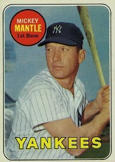 Top 10 Mickey Mantle Baseball Cards 7