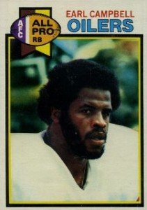 1979 Topps Football Earl Campbell