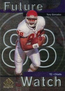 Tony Gonzalez Catches Everything but the Hobby's Attention 1