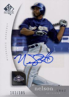 Nelson Cruz Rookie Cards Checklist and Guide 3