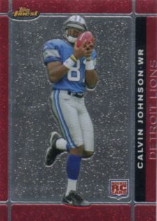 Calvin Johnson Football Cards: Rookie Cards Checklist and Buying Guide 22