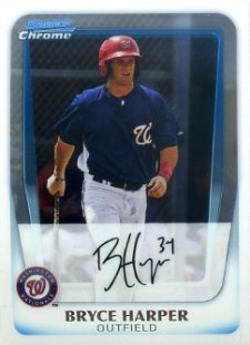 The Bryce Harper Visual Guide to 2011 Bowman Chrome Baseball 1