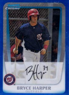 The Bryce Harper Visual Guide to 2011 Bowman Chrome Baseball 7