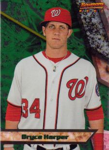 The Bryce Harper Visual Guide to 2011 Bowman Chrome Baseball 17