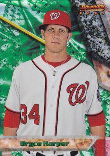 The Bryce Harper Visual Guide to 2011 Bowman Chrome Baseball 18