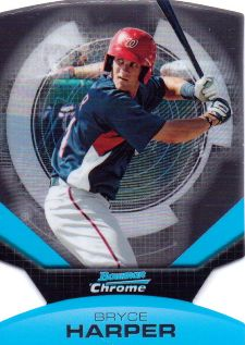 The Bryce Harper Visual Guide to 2011 Bowman Chrome Baseball 22