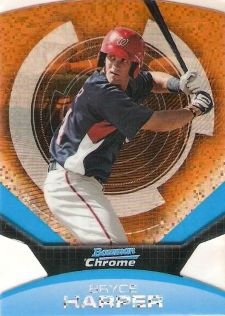 The Bryce Harper Visual Guide to 2011 Bowman Chrome Baseball 25
