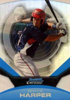 The Bryce Harper Visual Guide to 2011 Bowman Chrome Baseball 23
