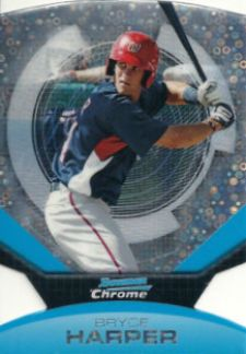 The Bryce Harper Visual Guide to 2011 Bowman Chrome Baseball 24
