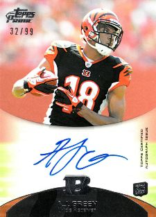 10 Hottest 2011 Topps Prime Football Rookie Autograph Variations 5