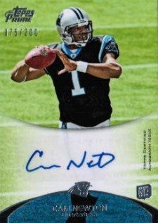 10 Hottest 2011 Topps Prime Football Rookie Autograph Variations 1