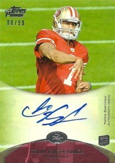 10 Hottest 2011 Topps Prime Football Rookie Autograph Variations 10
