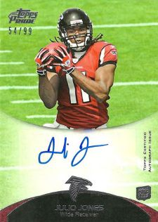 10 Hottest 2011 Topps Prime Football Rookie Autograph Variations 3
