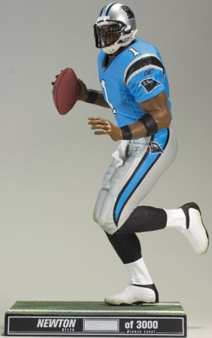b67050a4281 Cam Newton Becomes Toy Box Hero with McFarlane Debut 1