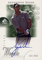 Tiger Woods Rookie Cards and Autographed Memorabilia Guide