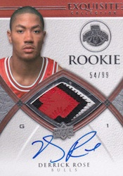 Derrick Rose Rookies Cards Guide Checklist 1