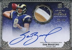 Sam Bradford Football Cards and Autographed Memorabilia Guide 2
