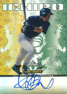 Leaf's Ichiro Suzuki Autographs Are Selling for How Much? 1