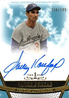 2011 Topps Tier One Autographs Gallery and Highlights 1