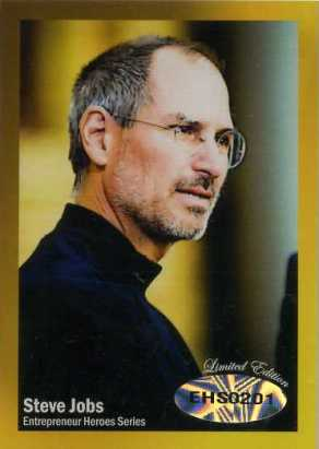 Win a Rare Steve Jobs Gold Card from Entrepreneur Heroes 1