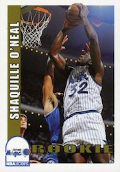 Shaquille O'Neal Cards, Rookie Cards and Autographed Memorabilia Guide 2