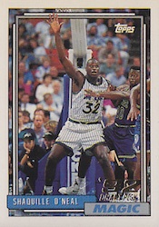 Shaquille O'Neal Cards, Rookie Cards and Autographed Memorabilia Guide 5