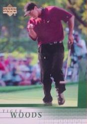 2001 Upper Deck Tiger Woods RC