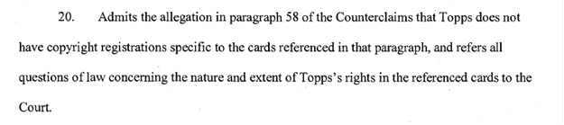 Law of Cards: Mickey Mantle in the Middle of Topps vs. Leaf Lawsuit 2