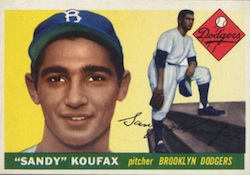 Sandy Koufax Cards and Autograph Memorabilia Guide 1