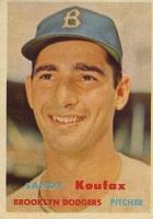 Sandy Koufax Cards and Autograph Memorabilia Guide