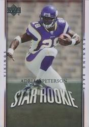 Adrian Peterson Card and Memorabilia Guide 25