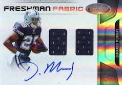 DeMarco Murray Cards and Memorabilia Guide 3